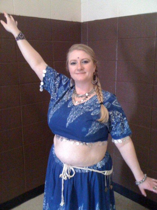 My 1st Belly Dance Costume