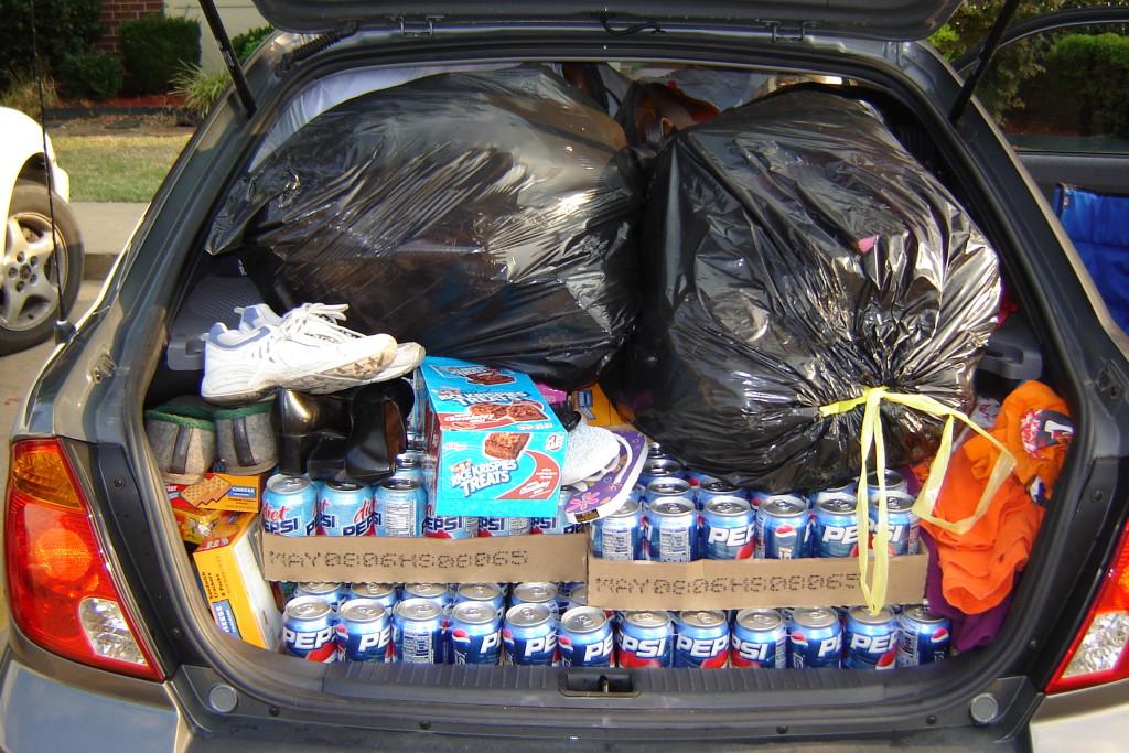 Supplies for Katrina Survivors